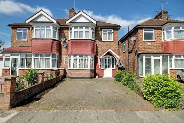 Thumbnail Semi-detached house for sale in Countisbury Avenue, Enfield
