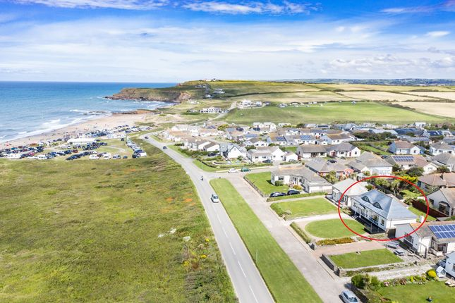 Thumbnail Detached house for sale in Marine Drive, Widemouth Bay, Bude