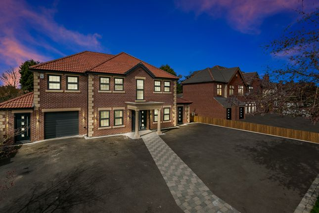 Thumbnail Detached house for sale in Rykneld Road, Littleover, Derby