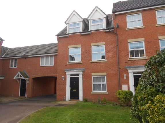 Thumbnail Terraced house for sale in Croyland Drive, Elstow, Bedford, Bedfordshire