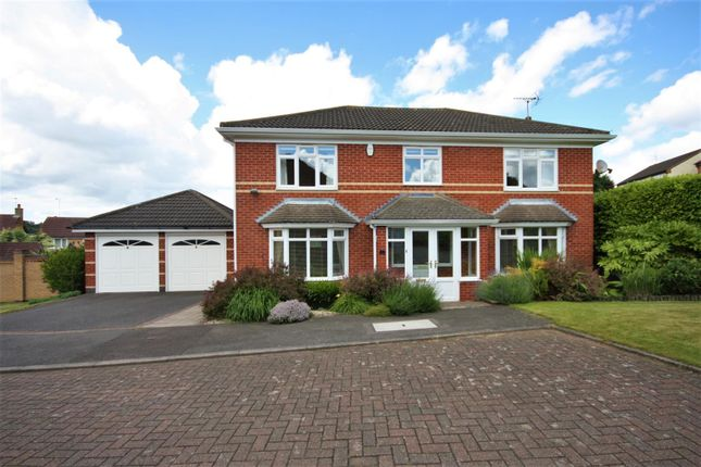 Thumbnail Detached house for sale in Valley Road, Markfield