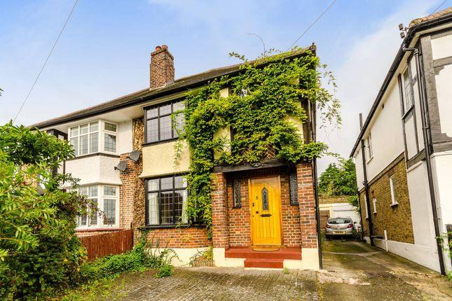 Thumbnail Semi-detached house to rent in Pembroke Avenue, Berrylands