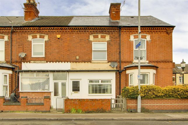 3 bed terraced house for sale in Meadow Road, Netherfield, Nottinghamshire NG4