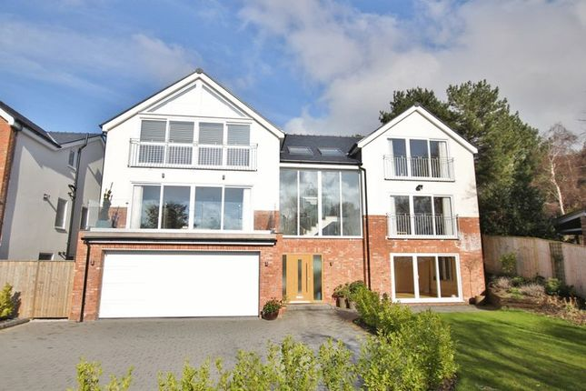 Exterior of The Ridge, Lower Heswall, Wirral CH60