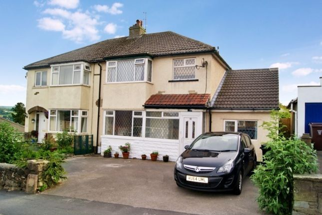 Thumbnail Semi-detached house to rent in Goose Cote Lane, Oakworth, Keighley