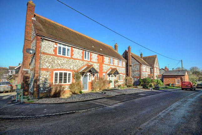 Thumbnail Semi-detached house for sale in Watlington Road, Lewknor, Watlington