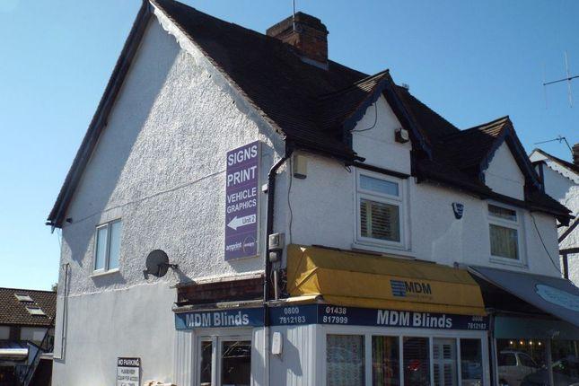 Thumbnail Flat to rent in Station Road, Knebworth, Hertfordshire