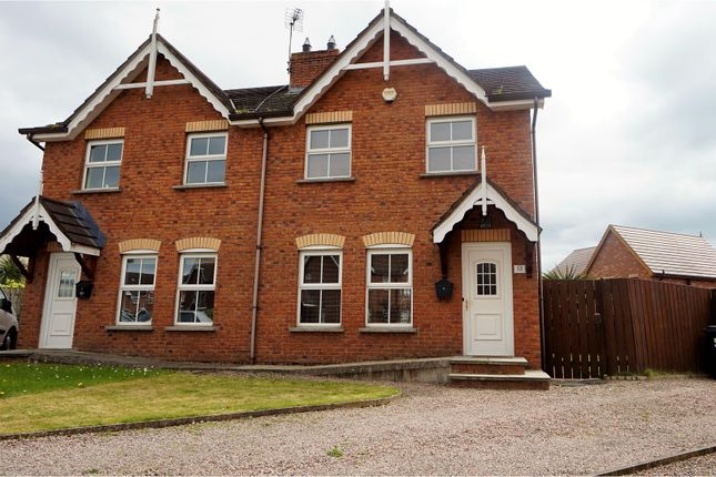 Thumbnail Semi-detached house for sale in Ardvanagh Meadows, Newtownards
