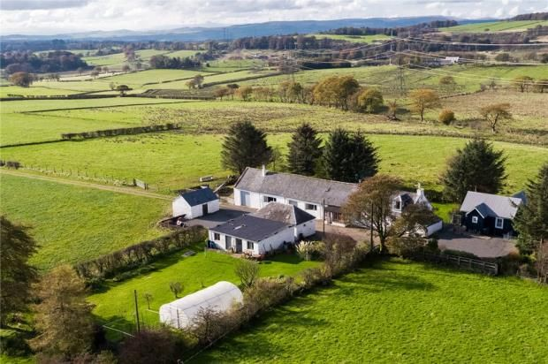Thumbnail Detached house for sale in Eastend Of Shutterflat Farm, Beith, North Ayrshire