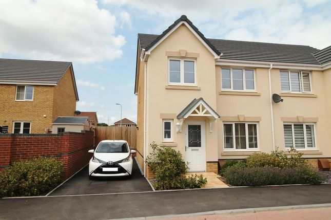 Thumbnail Semi-detached house to rent in Bryn Meurig, Llanharry
