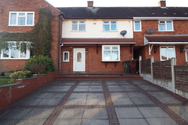 Thumbnail Terraced house to rent in Palmer Close, Essington, Wolverhampton