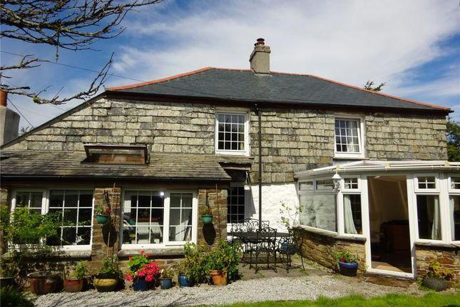 Thumbnail Detached house for sale in Minions, Nr Liskeard, Cornwall