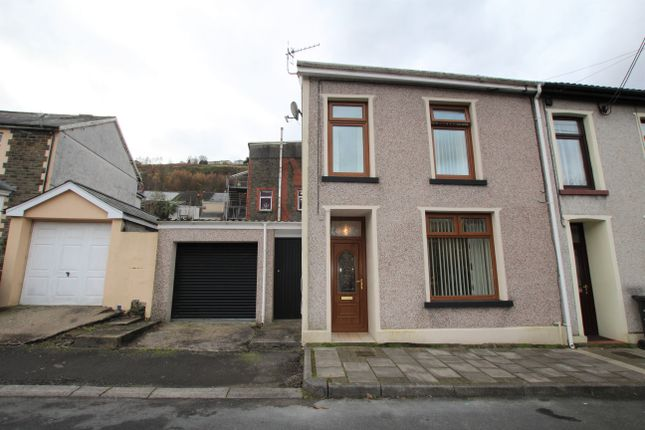 Thumbnail Terraced house for sale in Harcourt Terrace, Penrhiwceiber, Mountain Ash