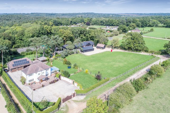 Thumbnail Detached house for sale in Brownhill Road, Wootton, New Milton
