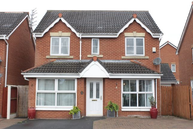 Thumbnail Detached house for sale in Stirling Lane, Hunts Cross, Liverpool