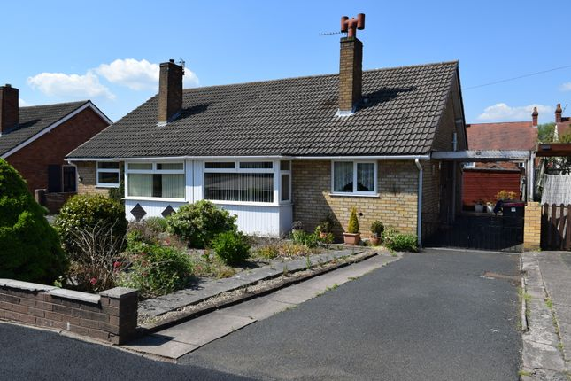 Thumbnail Semi-detached bungalow for sale in Springfield Road, Trench, Telford, Shropshire