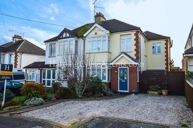 Thumbnail Semi-detached house for sale in Victor Gardens, Hockley, Essex