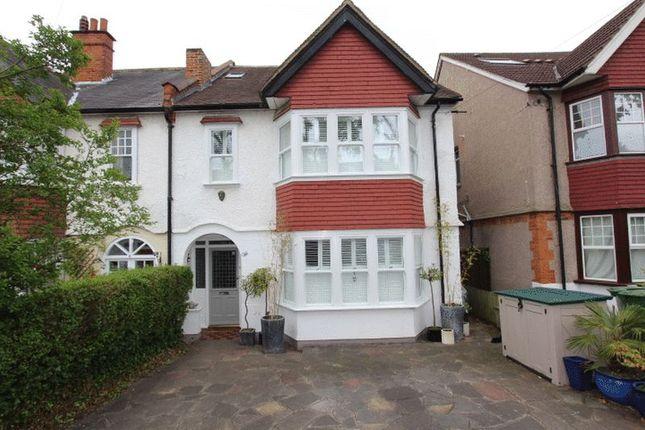 Thumbnail Semi-detached house for sale in The Crescent, Belmont, Sutton