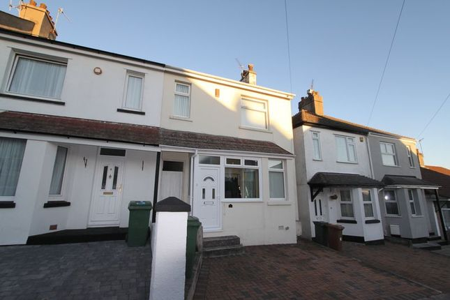 Thumbnail Terraced house for sale in Oakcroft Road, Beacon Park, Plymouth