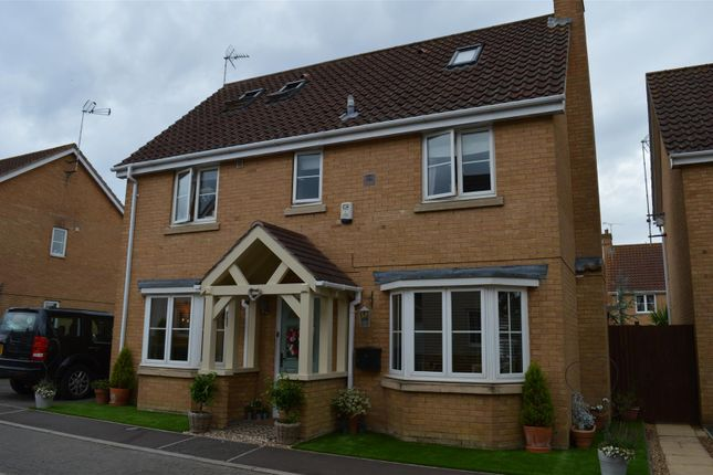 Thumbnail Detached house for sale in Moughton Court, West Winch, Kings Lynn