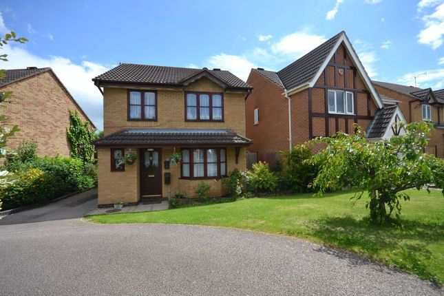 Thumbnail Detached house for sale in Lancaster Way, Buckingham Fields, Northampton