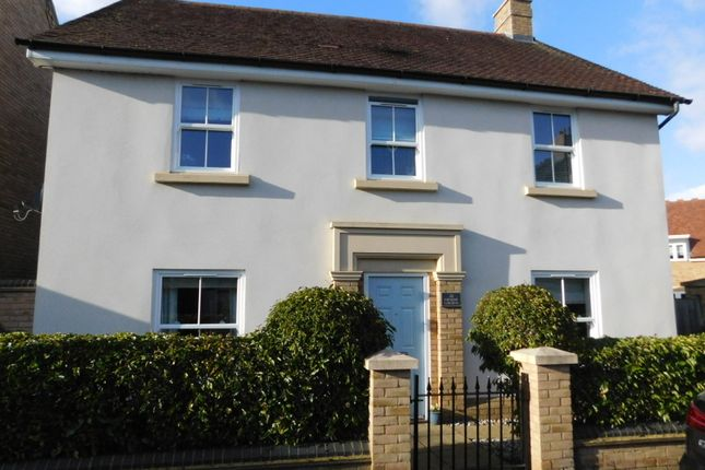 Thumbnail Detached house for sale in Faraday Gardens, Fairfield, Herts
