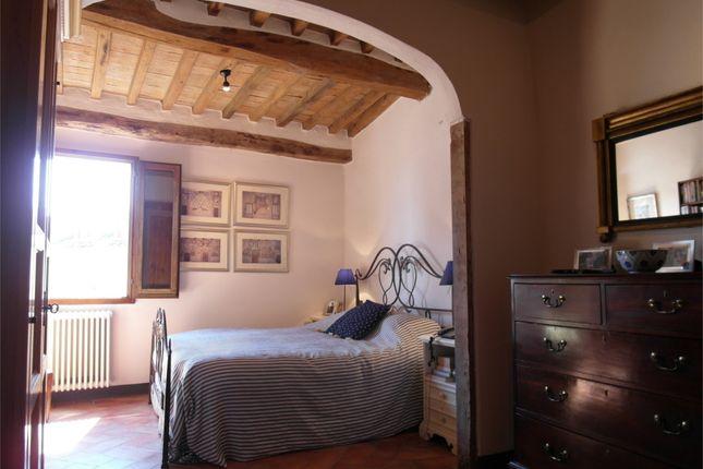 Master Bedroom of Monteloro, Anghiari, Arezzo, Tuscany, Italy