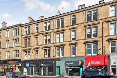 Thumbnail Flat to rent in Great Western Road, Hillhead