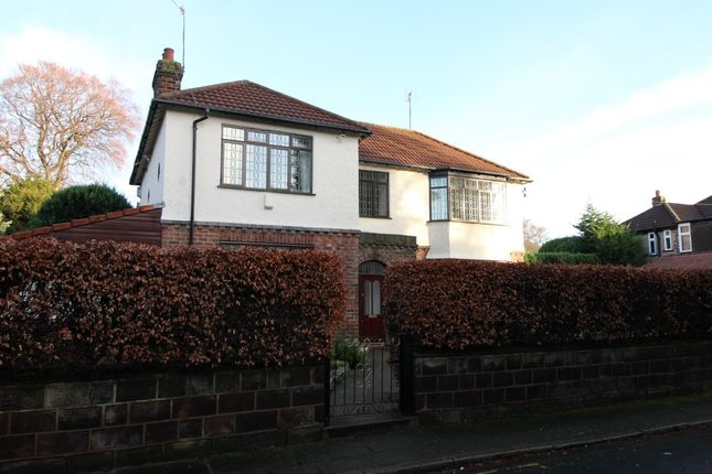 Thumbnail Detached house to rent in Catonfield Road, Mossley Hill