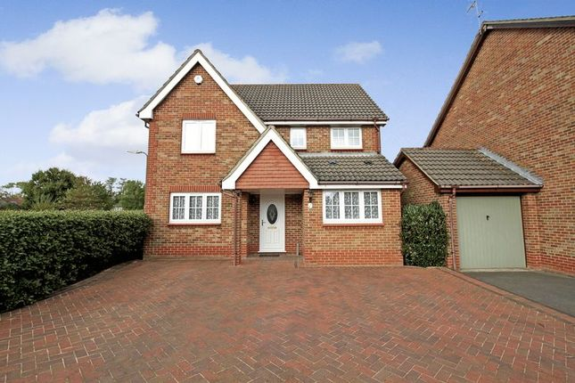 Thumbnail Detached house for sale in Upmill Close, West End, Southampton