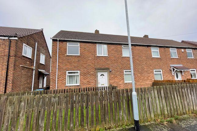 Thumbnail Semi-detached house for sale in Quarry Crescent, Bearpark, Durham