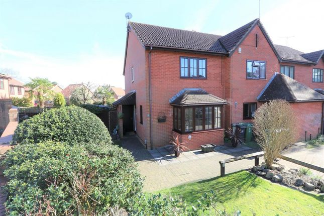 Thumbnail End terrace house for sale in Frimley, Camberley