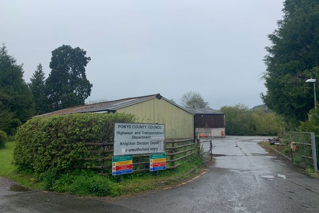 Thumbnail Industrial for sale in Mill Lane, Presteigne