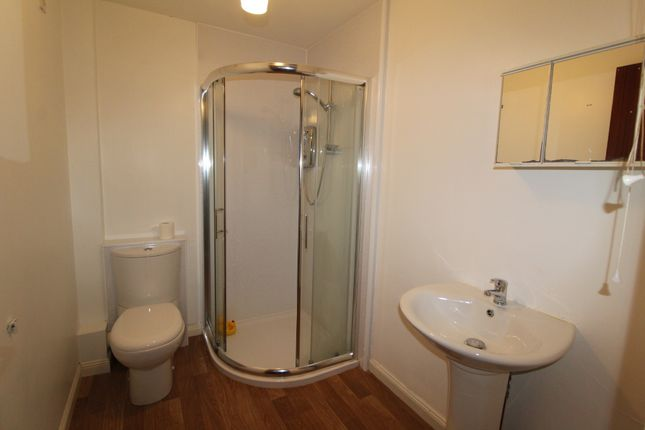 Shower Room of Church Hill Flats, Griminish, Isle Of Benbecula HS7