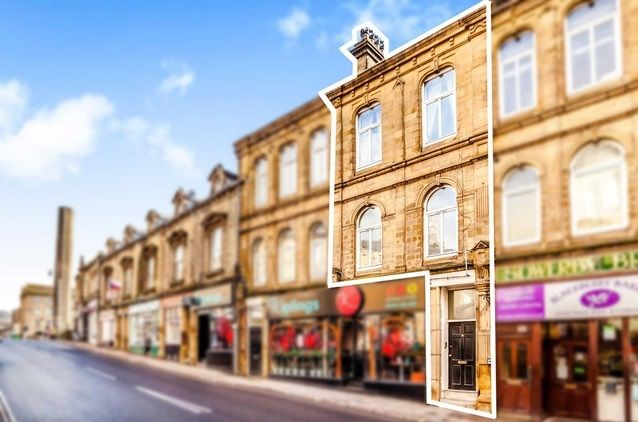 Thumbnail Flat for sale in Town Hall Street, Sowerby Bridge