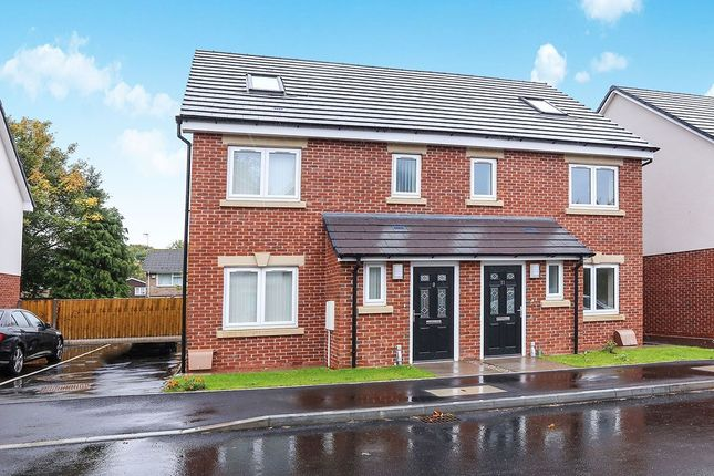 Thumbnail Semi-detached house for sale in Ikon Avenue, Wolverhampton