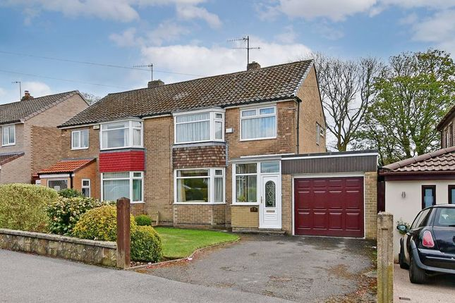 3 bed semi-detached house for sale in Wollaton Road, Bradway, Sheffield S17