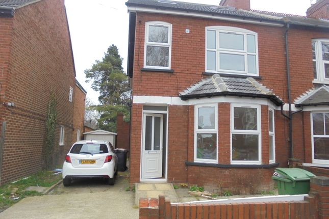 Thumbnail Semi-detached house to rent in Marsh Road, Luton