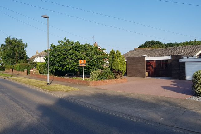 Thumbnail Detached bungalow for sale in Cliff Road, Felixstowe