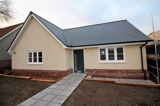 Thumbnail Detached bungalow for sale in Walton Road, Kirby-Le-Soken, Frinton-On-Sea
