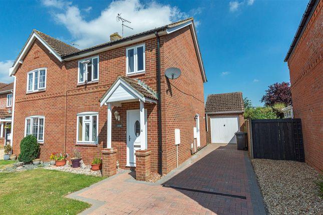 Thumbnail Semi-detached house to rent in Oatfield Way, Heckington, Sleaford