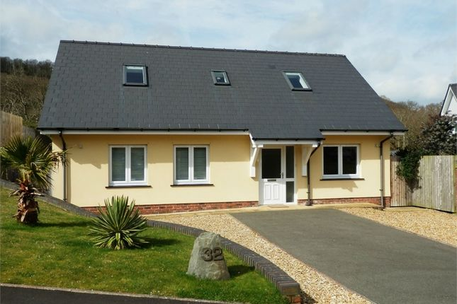 Thumbnail Detached bungalow for sale in Dolphin Court, New Quay, Ceredigion