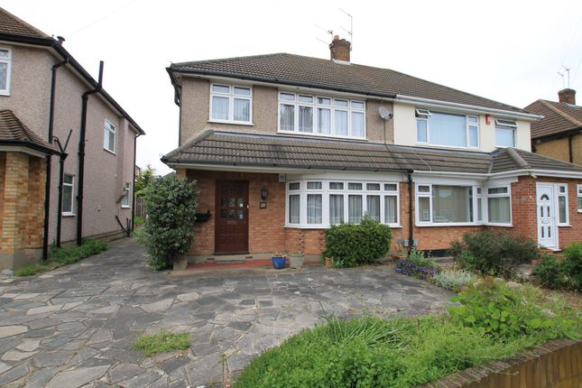 Thumbnail Semi-detached house for sale in Trent Avenue, Upminster