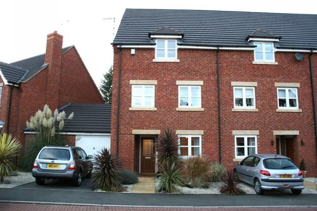 Thumbnail Town house to rent in Cotton Mews, Earl Shilton, Leicester