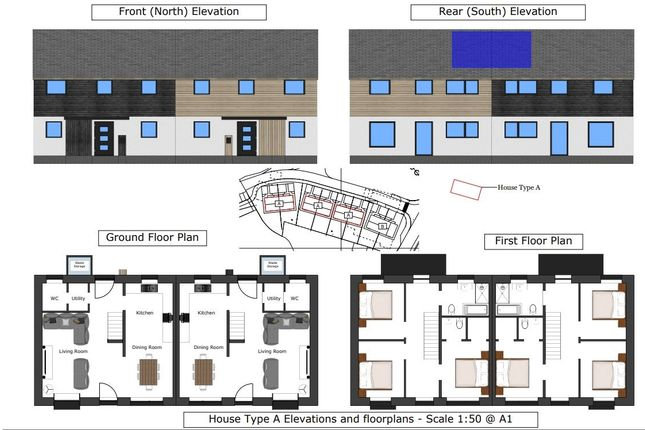 Thumbnail Land for sale in High Street, Bream, Lydney
