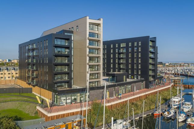 Thumbnail Flat for sale in Whitewater House, Bayscape, Cardiff Marina