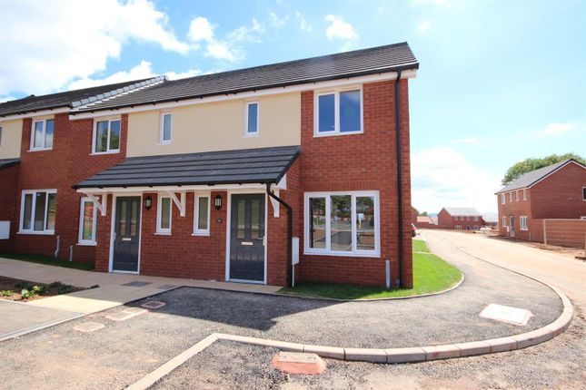 Thumbnail End terrace house to rent in Ashcroft Road, Hill Barton Vale, Exeter
