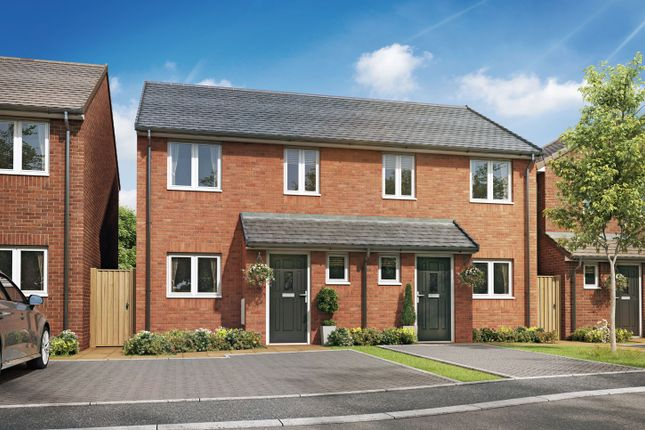 """Thumbnail 2 bed semi-detached house for sale in """"The Ormonde I"""" at High Street, Riddings, Alfreton"""