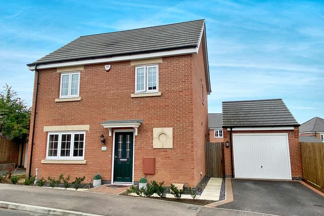 Thumbnail Detached house for sale in Jasmine Way, Thurnby, Leicester
