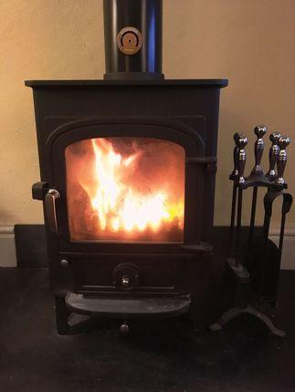 Log Burner To Lounge